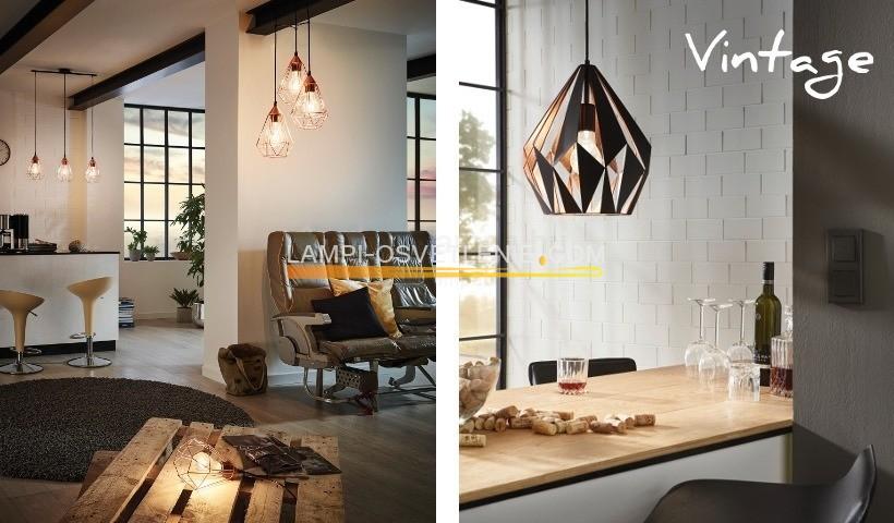 tarbes vintage eglo. Black Bedroom Furniture Sets. Home Design Ideas