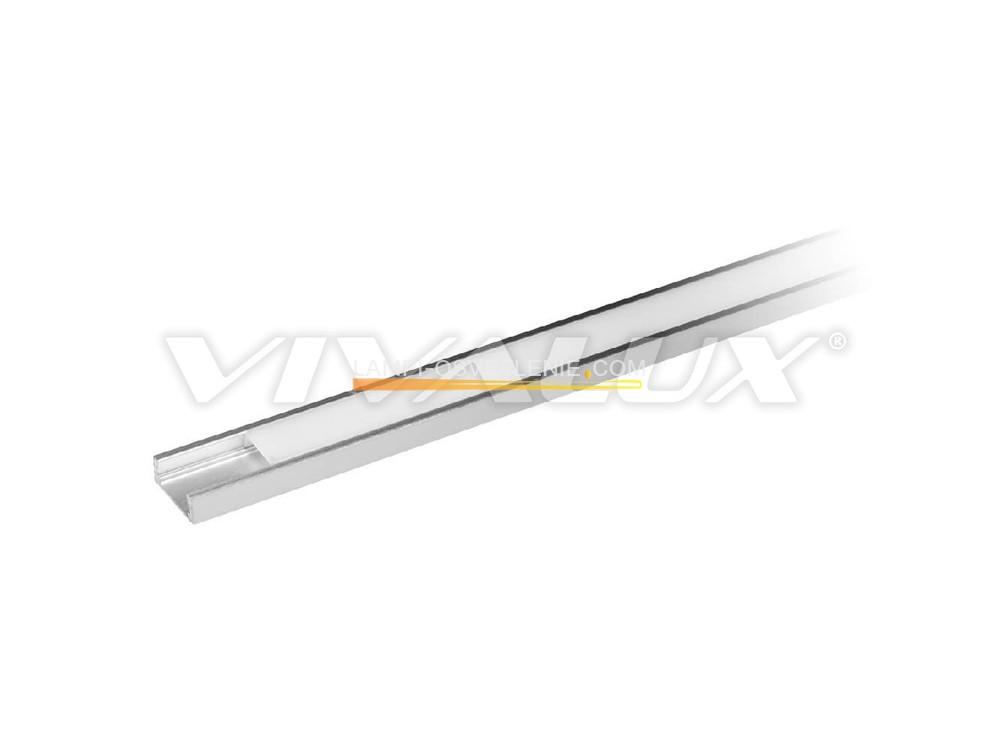 Алуминиеви профили за LED ленти PROFILES - PROFILE S 2M KIT