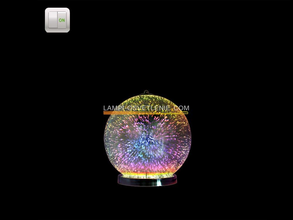 НАСТОЛНА ЛАМПА 3D 82645.12T