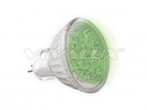 Диодни лампи LED20 MR16 12V LED20 MR16 GREEN