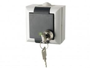 Контакт с ключалка на капака открит монтаж, GAO