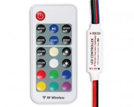 RF Мини контролер за RGB светодиодно осветление