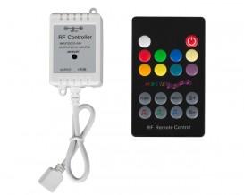 RF музикален контролер за RGB LED осветление, 6A, 12-24V DC, 72W