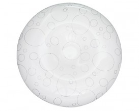 LED декоративна плафониера 24W,4000K, IP20