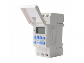 DIN  таймер седмичен с  LCD 16A, GAO