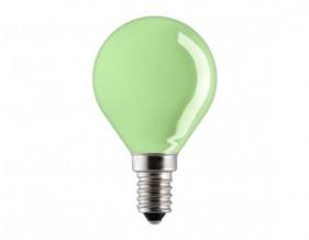 E14 15W GREEN