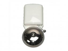 Звънец метален инокс с бял  PVC  капак  8-12V 83dB, GAO