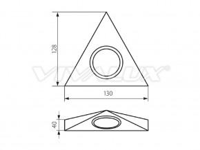 Осветление за мебели PRIZMA FLV-310 - PRIZMA FLV-310 C/M