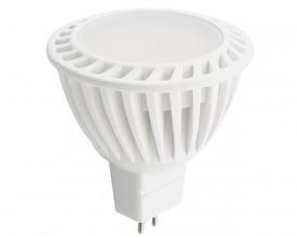 LED луничка 4W, SMD 2835, 12V AC/DC MR16, топла светлина