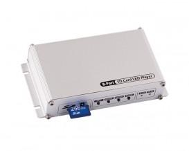 Контролер за дигитални светодиодни модули и ленти, SD-карта, 8 портa