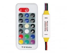 Професионален RF контролер за RGB светодиодно осветление