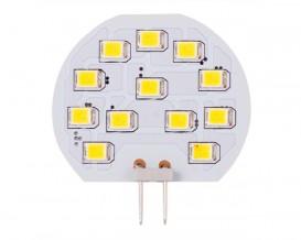 LED лампа 2 БРОЯ  топла G4 12V DC 180 2W SMD 2835