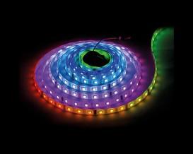 Дигитална LED лента, 5V DC IC WS2812B, 30 пиксела/m SMD5050 7.2W/m IP67