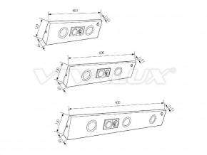 Осветление за мебели L 600-W - L 600/AL