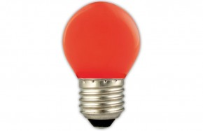 TUNGSRAM SPHERE RED E27 15W