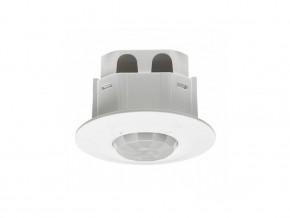 Датчик за движение за СКРИТ МОНТАЖ  360° 1000W, 500VA,  LED  и ЕСЛ  250W, IP41,  ф 65 мм ,  изисква неутрала
