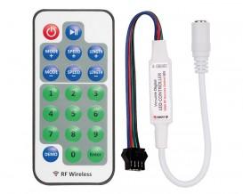 RF мини контролер за дигитална светодиодна лента