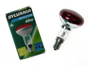 SYLVANIA R50 E14 40W RED