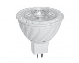 LED луничка 6W, MR16, 2700K, 220V AC, топла светлина, COB