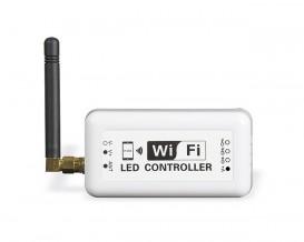 WIFI контролер за едноцветна LED лента, 12A, 12-24V DC, 144W