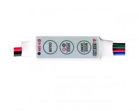 Мини контролер за RGB LED лента, 6A, 5-24V DC, 72W