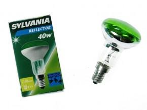 SYLVANIA R50 E14 40W GREEN