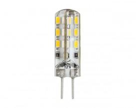 LED лампа 12VDC 2W G4 360⁰ 24 SMD 3014, неутрална светлина
