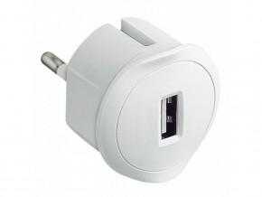 Зарядно за контакт  USB 1.5A 5V 230V  бяло, LEGRAND